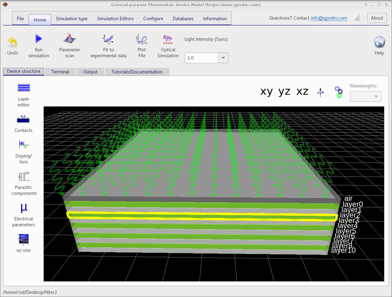 Gpvdm A General Purpose Solar Cell Simulation Tool